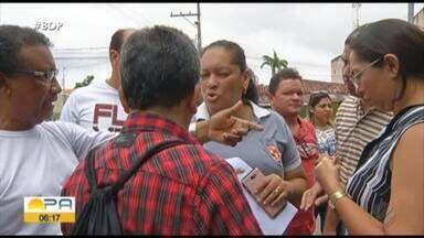 Servidores municipais realizam paralisação em Paragominas, no sudeste do Pará - Trabalhadores pedem transparência nos cortes de benefícios e gratificações