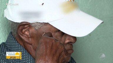 Documentos mostram que morador de Itajuípe tem 118 anos - O homem nasceu no ano de 1900. A família está procurando mais documentos oficiais para poder registrar no livro de recordes.