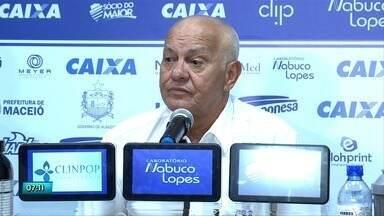 CSA fala sobre o planejamento do clube para a nova temporada - Equipe azulina realizou coletiva de imprensa no Mutange.