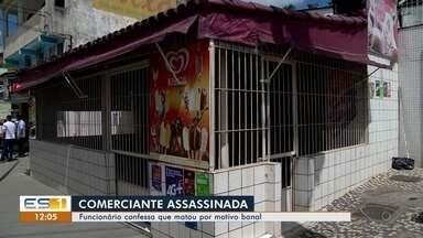 Homem é preso e confessa que matou dona de bar 'porque ela era chata', diz polícia no ES - Solange Pinheiros tinha 60 anos e foi espancada até a morte.