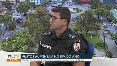 Policia Militar dá dicas para evitar roubos e furtos durante as compras de Natal - Período de fim de ano e aumento no movimento do comércio são atrativos para criminosos.