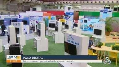 Carlos Oshiro dá dicas sobre a 1ª Feira Polo Digital de Manaus - Evento acontece no Studio 5