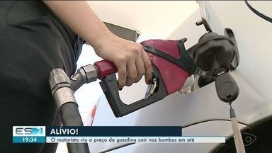 Preço da gasolina cai até R$ 0,54 no Sul do ES - Gasolina ficou mais barata em alguns locais.