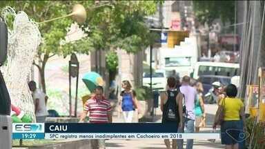 SPC registra menos inadimplentes em Cachoeiro em 2018 - Cerca de dois em cada dez trabalhadores vão usar 13º salário para limpar o nome.