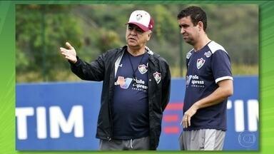 Após demissão de Marcelo Oliveira, Fábio Moreno vai comandar o Flu contra o América-MG - Após demissão de Marcelo Oliveira, Fábio Moreno vai comandar o Flu contra o América-MG