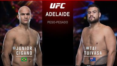 Junior Cigano x Tai Tuivasa
