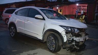 Médica que dirigia embriagada paga fiança e é liberada - Ela atropelou seis pessoas depois que bateu o carro e tentou fugir. A fiança foi de R$ 7,5 mil.