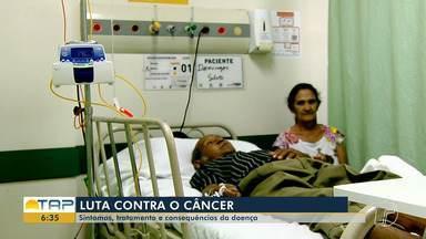 Pacientes com câncer enfrentam tratamento longo e doloroso; veja como superar - Conheça histórias de pessoas que lutam contra a doença que acomete cada vez mais brasileiros.
