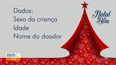 Natal do Bem: Rede Bahia realiza campanha para ajudar crianças carentes - Sua doação será entregue a entidades carentes de Salvador.