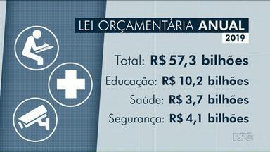 Orçamento do Paraná prevê mais de 57 bilhões para 2019 - Deputados começam a votar a Lei Orçamentária para 2019.