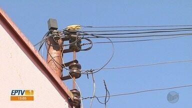 Furto de cabos telefônicos prejudica comerciantes e empresários em Ribeirão Preto - Fiação elétrica também é alvo de ladrões em todas as regiões da cidade.