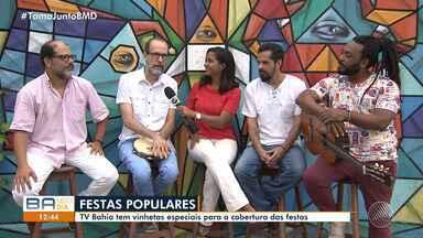 Conheça a equipe que produziu a vinheta especial das festas populares da TV Bahia - As vinhetas serão exibidas durante todo o período pela emissora.