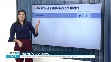 Veja a previsão do tempo no Amazonas - Capital teve quase todo o dia nublado.