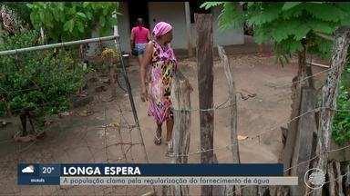 Moradores de comunidade rural em Nazária sofrem com falta de água - Moradores de comunidade rural em Nazária sofrem com falta de água