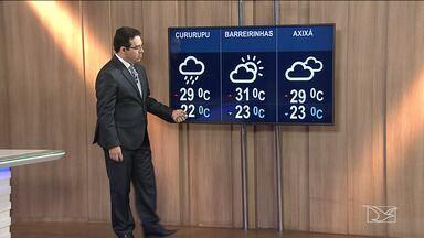 Veja a previsão do tempo neste sábado (8) no Maranhão - Confira como fica o tempo em São Luís e no Maranhão.