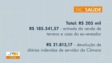TAC garante aplicação de R$205 mil na saúde pública; recurso é fruto de ações da 'Perfuga' - Valores são decorrentes de devoluções judiciais nas ações da operação Perfuga e serão aplicados no Hospital Municipal de Santarém.