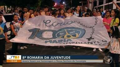 8ª Romaria da Juventude leva centenas de fiéis às ruas de Santarém - Procissão faz parte da programação oficial das festividades de Nossa Senhora da Conceição.