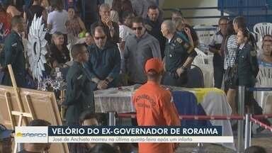 Corpo de ex-governador de Roraima, José de Anchieta, é velado na capital do Estado - Anchieta faleceu na última quinta-feira (6) após sofrer um infarto fulminante.