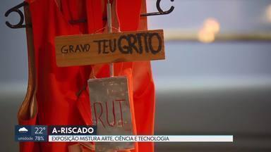 A-riscado: exposição mistura arte, ciência e tecnologia - A exposição, no Museu da República em Brasília, vai até o dia 13 de janeiro. A entrada é de graça.