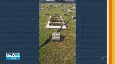 Professor vai à Justiça após desconhecido ser enterrado no túmulo da família em Franca, SP - Cemitério Jardim das Oliveiras informou que tenta conciliação com o denunciante.