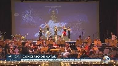 Concerto 'Alma de Cristal' é destaque no Theatro Pedro II em Ribeirão Preto - Espetáculo reúne orquestra, coral e bailarinos no mesmo palco na noite deste sábado (8).