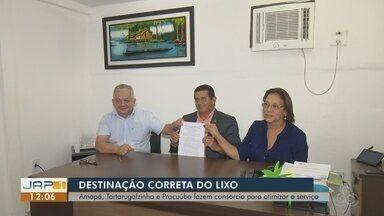 Três municípios do AP deverão destinar lixo em aterro em Tartarugalzinho - Amapá, Tartarugalzinho e Pracuúba fazem consórcio para otimizar o serviços nas cidades.