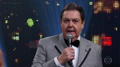 Faustão anuncia os finalista na categoria 'Jornalismo' - Os jornalistas consagrados da TV Globo