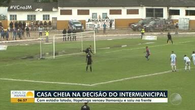 Intermunicipal: Itapetinga vence o Itamaraju por 1 x 0 - Veja os destaques do jogo.