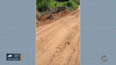 'Até Quando?': Prefeitura resolve problemas na estrada de terra de Sousas - Telespectadora tinha reclamado dos buracos na Estrada Municipal Adelina Segantine Cerqueira, que liga o distrito a Campinas (SP).