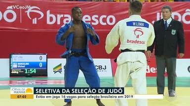 Lauro de Freitas recebe última etapa da seleção brasileira de judô - 120 judocas disputam as vagas.