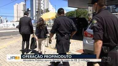 Operação Propinoduto investiga desvio de dinheiro para obra do ane viário de Anápolis - Segundo o Ministério Público, há indícios de superfaturamento.