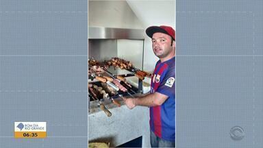 Corpo de homem que desapareceu na Praia da Joaquina em Florianópolis é encontrado - Henrique Brocesiwisk Oliveira, de 30 anos, tinha sido visto pela última vez no domingo (9), com um grupo de amigos.