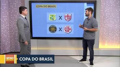 Sorteados os confrontos da primeira fase da Copa do Brasil - Sobradinho vai receber o América-RN e Brasiliense vai enfrentar o CRB-AL.