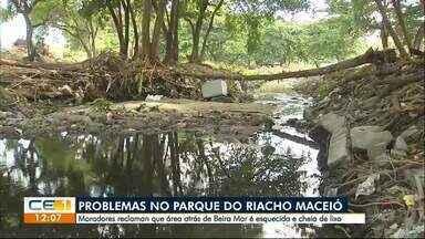 Moradores do Mucuripe pedem melhorias para o Parque do Riacho Maceió - Confira outras notícias no g1.globo/ce
