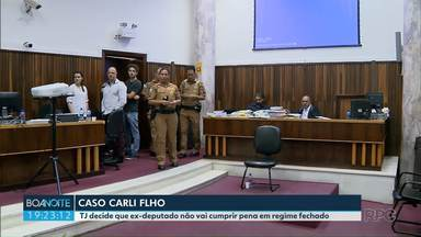 TJ decide que ex-deputado Carli Filho não vai cumprir pena em regime fechado - Em fevereiro ele foi condenado por duplo homicídio com dolo eventual.