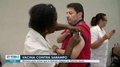Vacinação contra sarampo começa a ser aplicada no ES a partir desta sexta-feira (14) - Barreira para evitar que a doença chegue ao Espírito Santo começou nesta sexta (14).