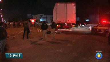 JPB2JP: Mulher morre em acidente na BR 230 - Estava numa moto atingida por um caminhão.