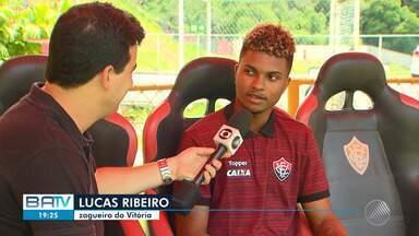 Lucas Ribeiro e Ramires são convocados para a seleção brasileira sub-20 - Os jogadores falaram sobre a convocação; confira.