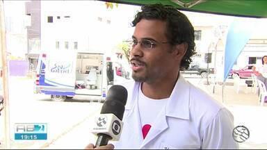 TV Asa Branca realiza projeto 'Saúde nos bairros' - Edição foi a última do ano de 2018.