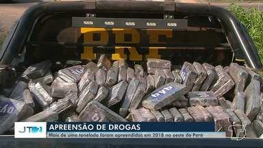 Polícia Federal apreende mais de uma tonelada de drogas no oeste do Pará - Apreensão é resultado de investigações e fiscalizações da PF, com o objetivo de acabar com a rota de traficantes de Santarém e região.
