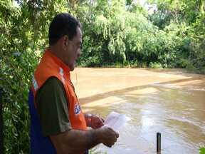 Período chuvoso aumenta o alerta para o risco de transbordamento do Rio Itapecuru - Núvel do Rio Itapecuru é monitorado por equipamentos durante a cheia