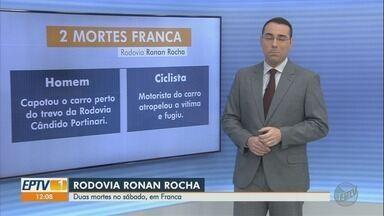 Dois morrem em acidentes na Rodovia Ronan Rocha em Franca, SP - Motorista, de 31 anos, chegou a ser socorrido, mas não resistiu.