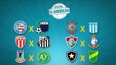 Sorteio define os confrontos da Copa Sul-Americana - Sorteio define os confrontos da Copa Sul-Americana