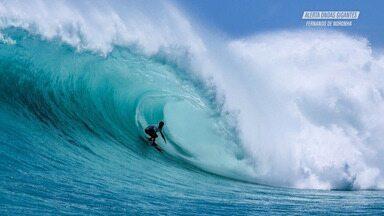 Swell atinge Fernando de Noronha