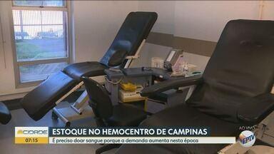 Hemocentros alertam para queda nas doações de sangue - Redução cheta a 70% em alguns locais.