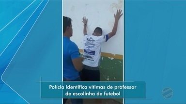 Polícia identifica vítimas de professor de escolinha de futebol - Polícia identifica vítimas de professor de escolinha de futebol.