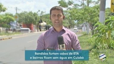 Abastecimento de água deve ser normalizado hoje à noite em 132 bairros de Cuiabá - Abastecimento de água deve ser normalizado hoje à noite em 132 bairros de Cuiabá.