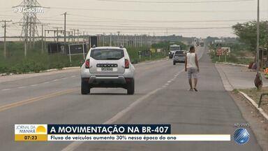 Viagens de Natal: veja como está o movimento na região norte - Fluxo de veículos aumenta 30% nessa época do ano.