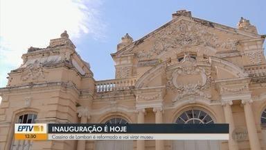 Cassino de Lambari é reformado e reabre como museu em Lambari, MG - Cassino de Lambari é reformado e reabre como museu em Lambari, MG