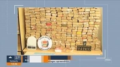 Polícia civil apreende mais de duas toneladas de drogas em operações - Polícia civil apreende mais de duas toneladas de drogas em operações
